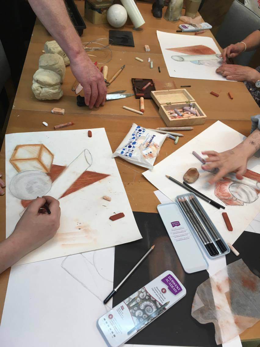 art and sculpture courses at hellygog logie steading