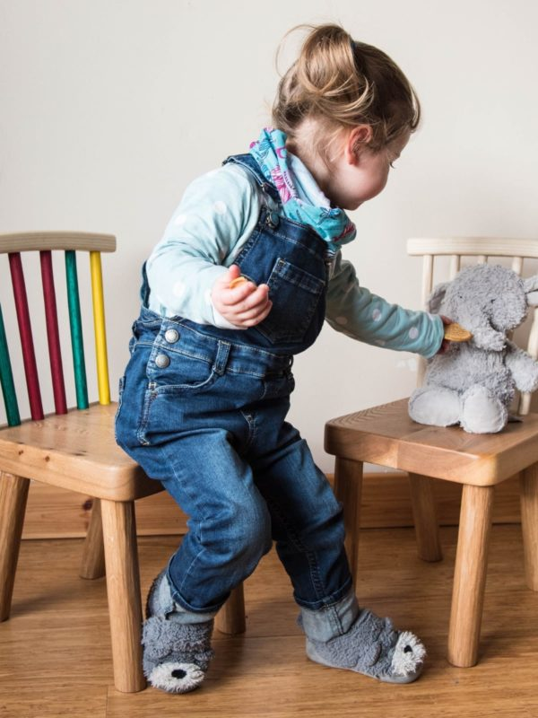 Aaron Sterrit handmade children's chairs made from Logie Timber