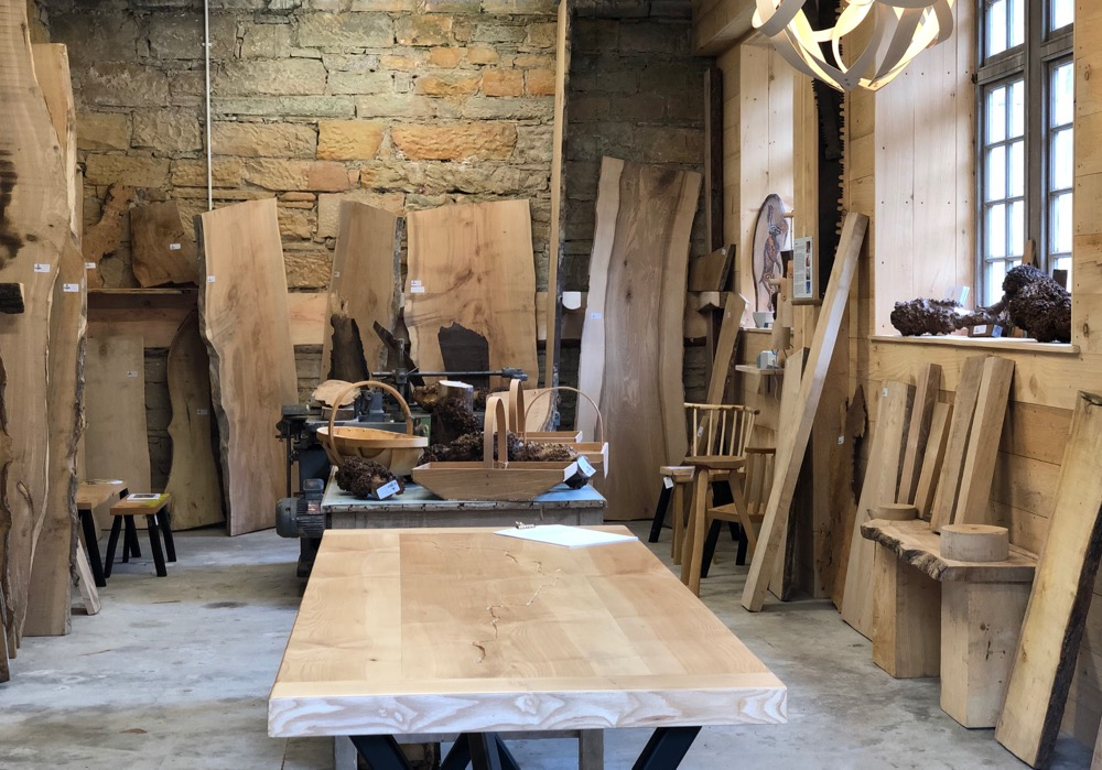 The Boardroom Logie Timber showroom at Logie Steading