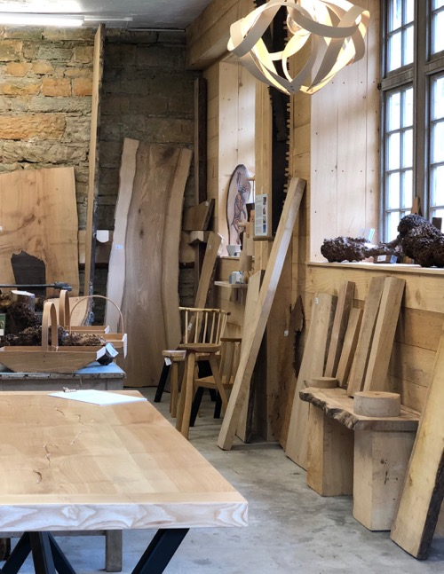 inside The Boardroom at Logie Steading