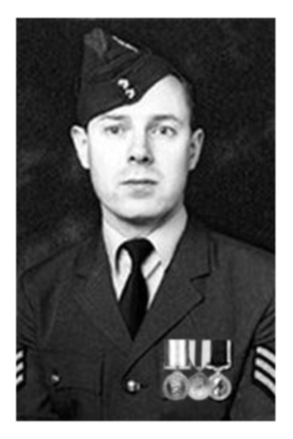 Tez of Iolaire in the RAF