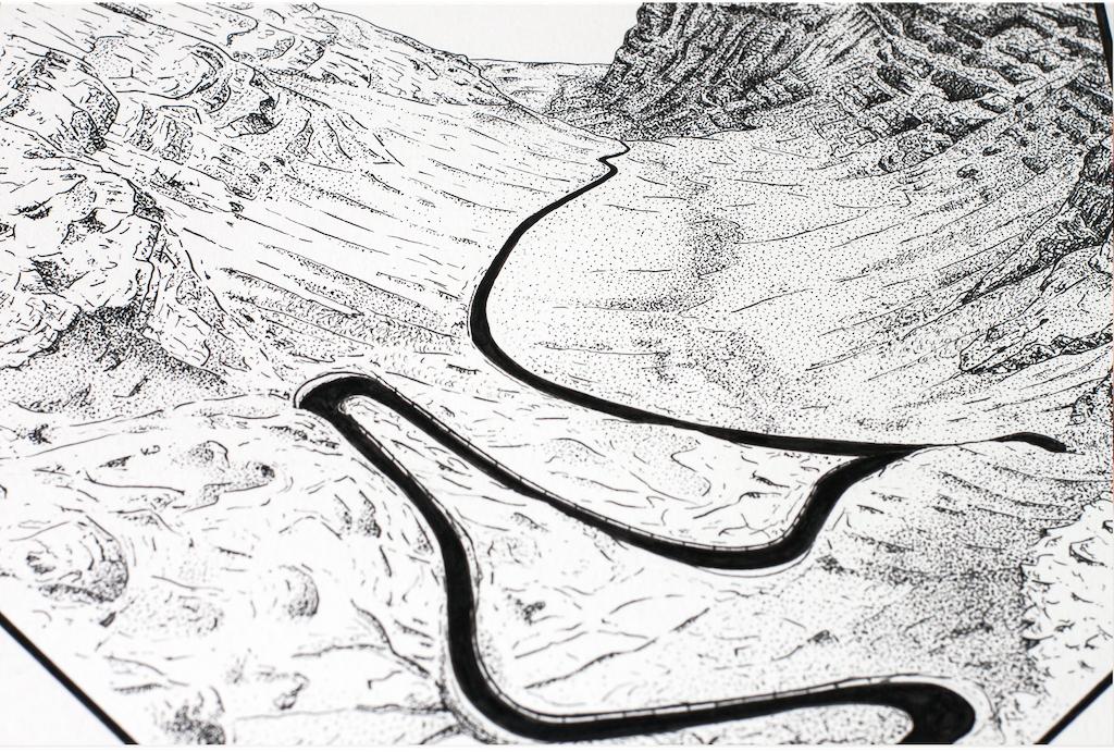 drawing by Jack Spowart