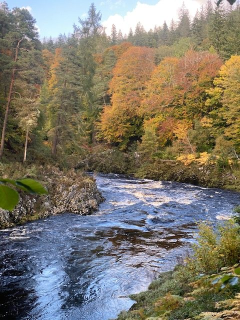 River Findhorn in Autumn