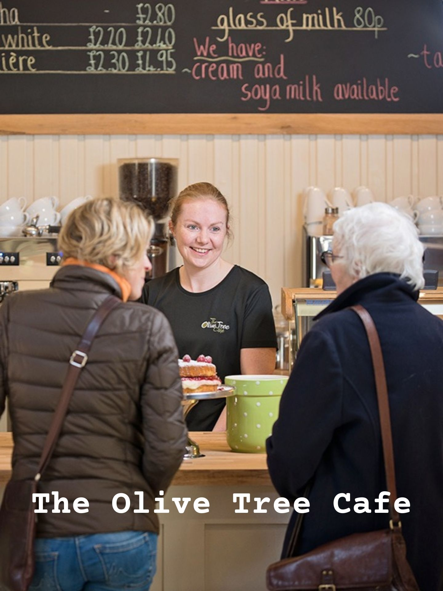 The Olive Tree Cafe at Logie Steading
