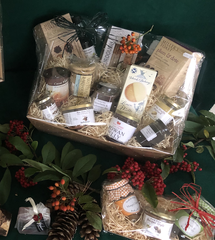 Christmas Hampers from Logie Steading Farm & Garden Shop
