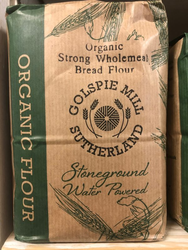 golspie strong wholemeal bread flour