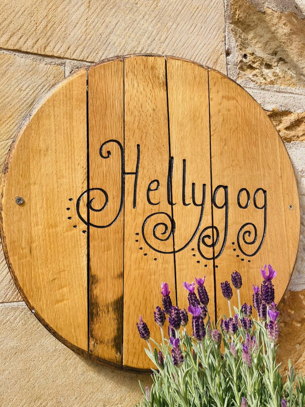 Hellygog at Logie STeading