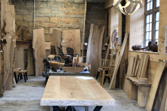 The Boardroom, Logie Timber's showroom at Logie Steading was opened during the festival