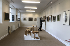 Into the Woods Art Exhibition featured David Caldwell's 'Portraits of Trees', and Ian Grant's 'Mountains & Moorland' as well as incredible furniture by Gavin Robertson