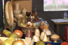There was an incredible range of hand made and hand turned wood craft at the festival