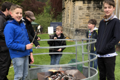 Logie Primary School Parent Council, pupils & former pupils toasted marshmallows to raise funds for the school