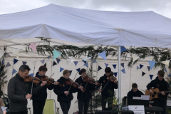 Feis Spe were among the talented live musicians we heard across the weekend
