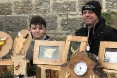 Intricate Designs' handmade woodcraft