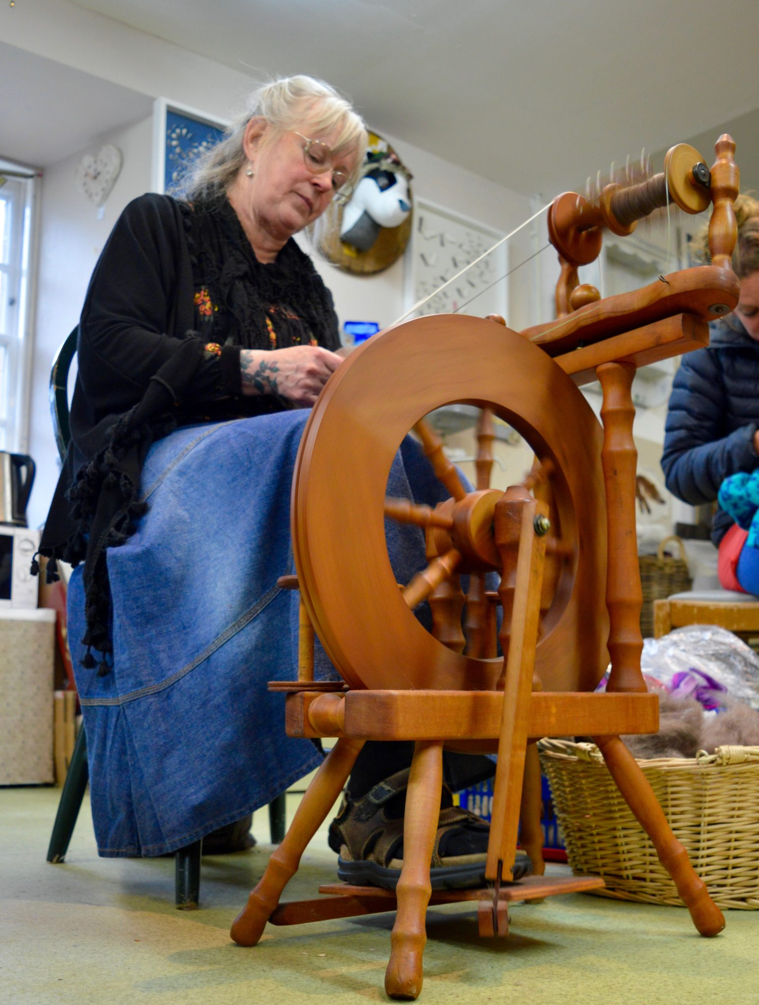spinning course at hellygog, Logie Steading
