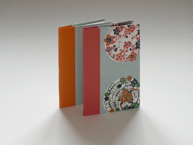 book binding little books with Laura West