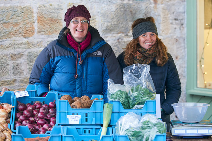 Cheery Roots, Shoots & Leaves at Logie Steading Christmas Market