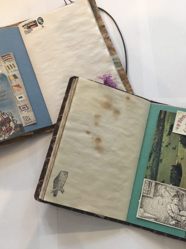 Hellygog Notebook making craft course at Logie Steading