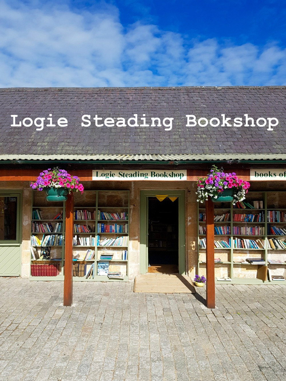 Logie Steading Bookshop whats here