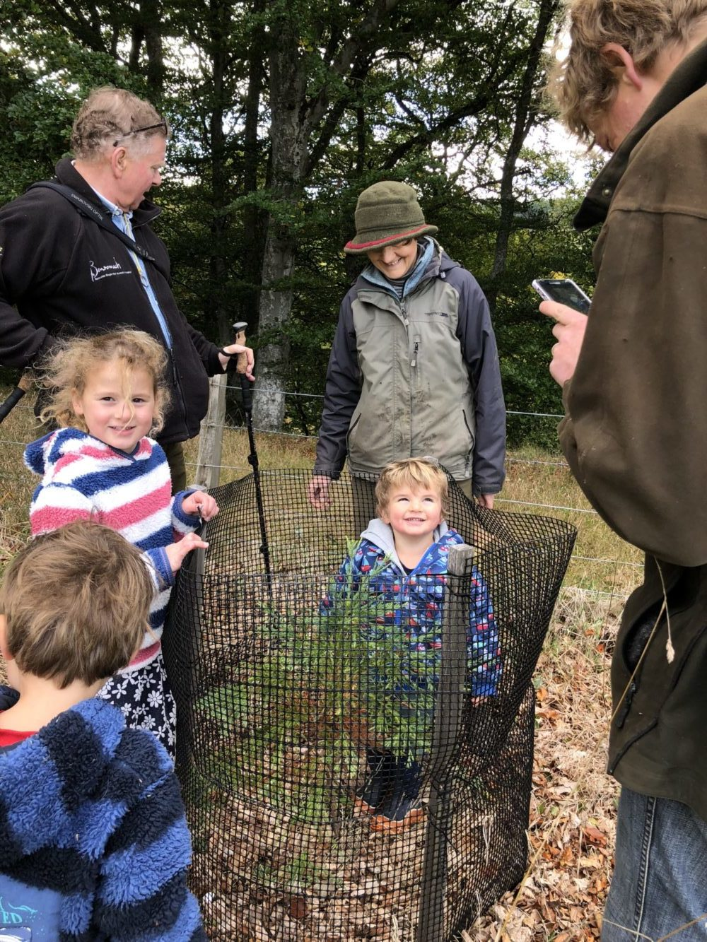 planting trees: a family tradition at Logie