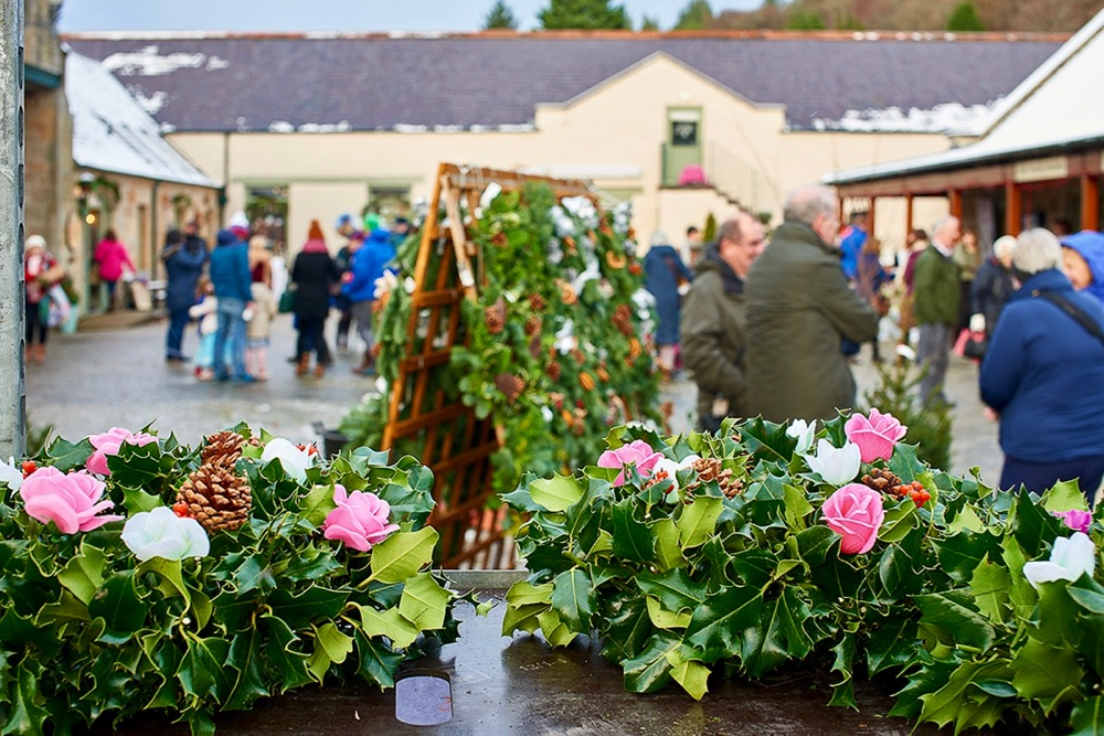 Greens Nurseries at Logie Steading Christmas Market