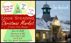 Logie Steading Christmas Market 2018 banner
