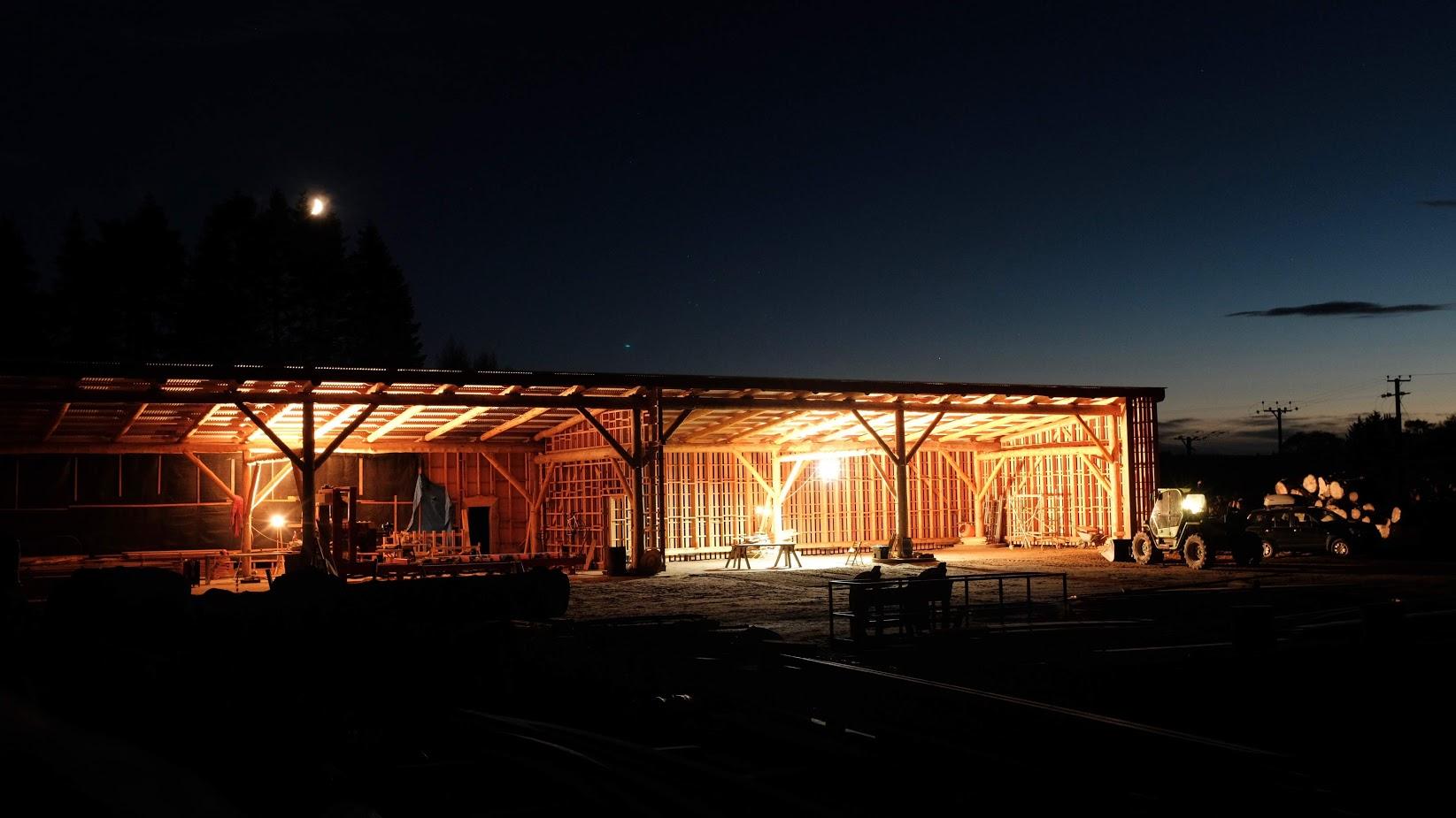 Logie Timber Sawmill Shed
