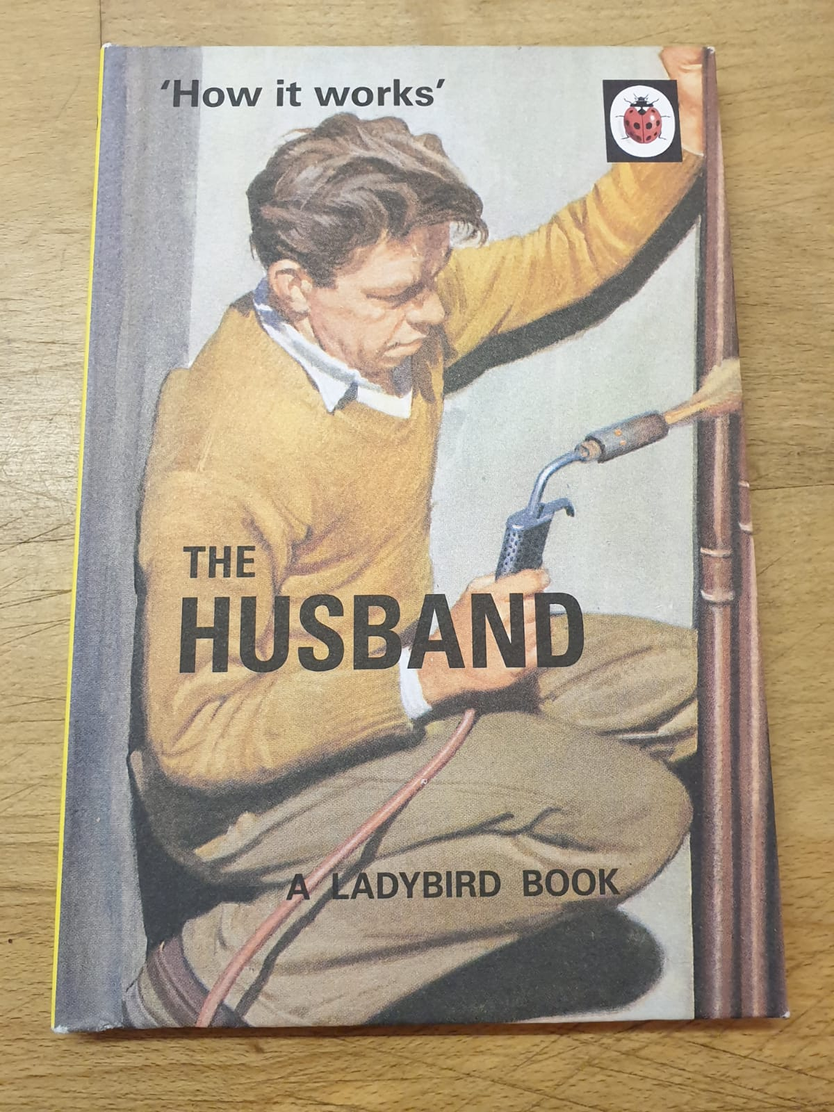 The Husband book at Logie Bookshop