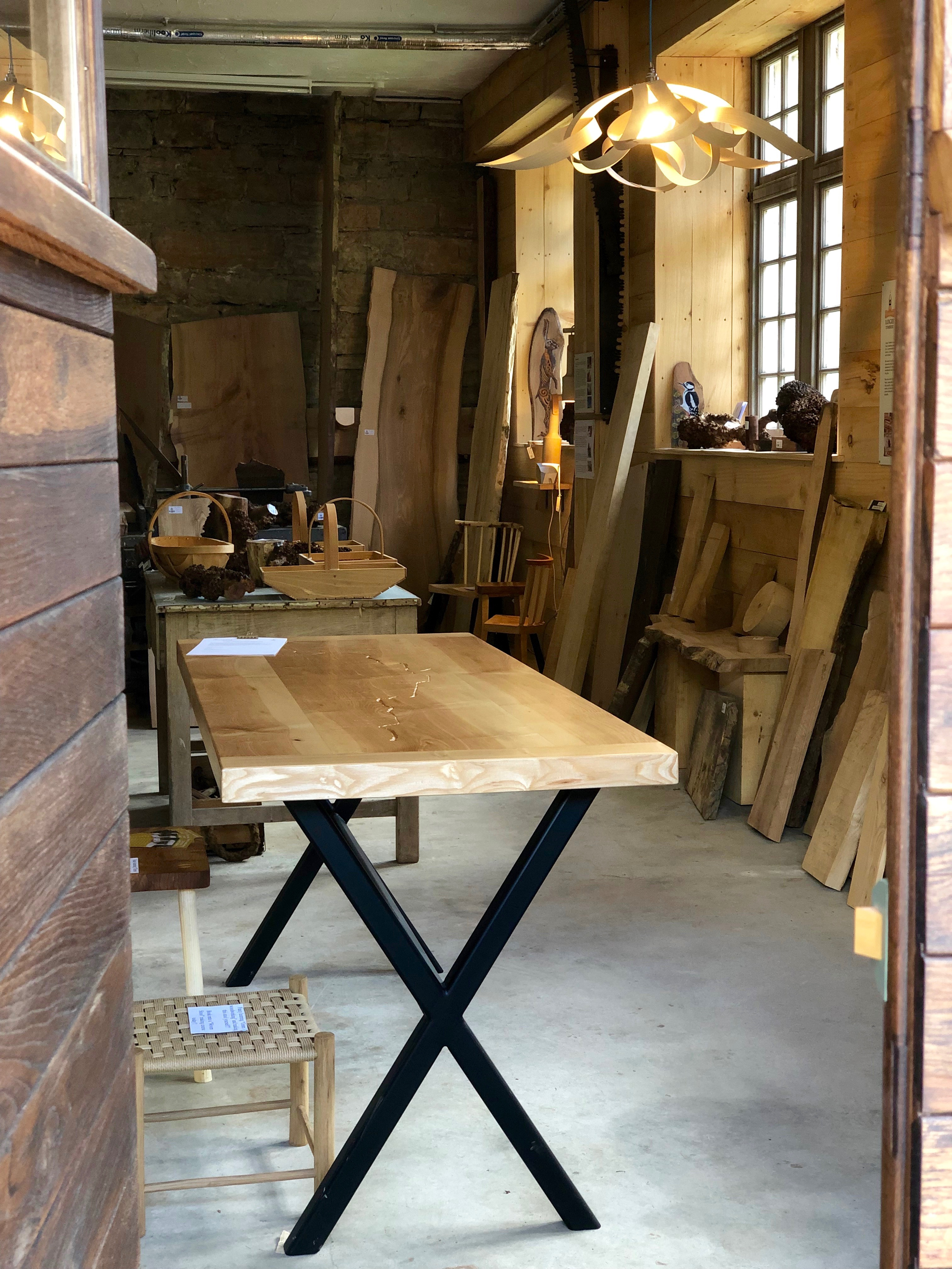 The River Table in The Boardroom Logie Timber