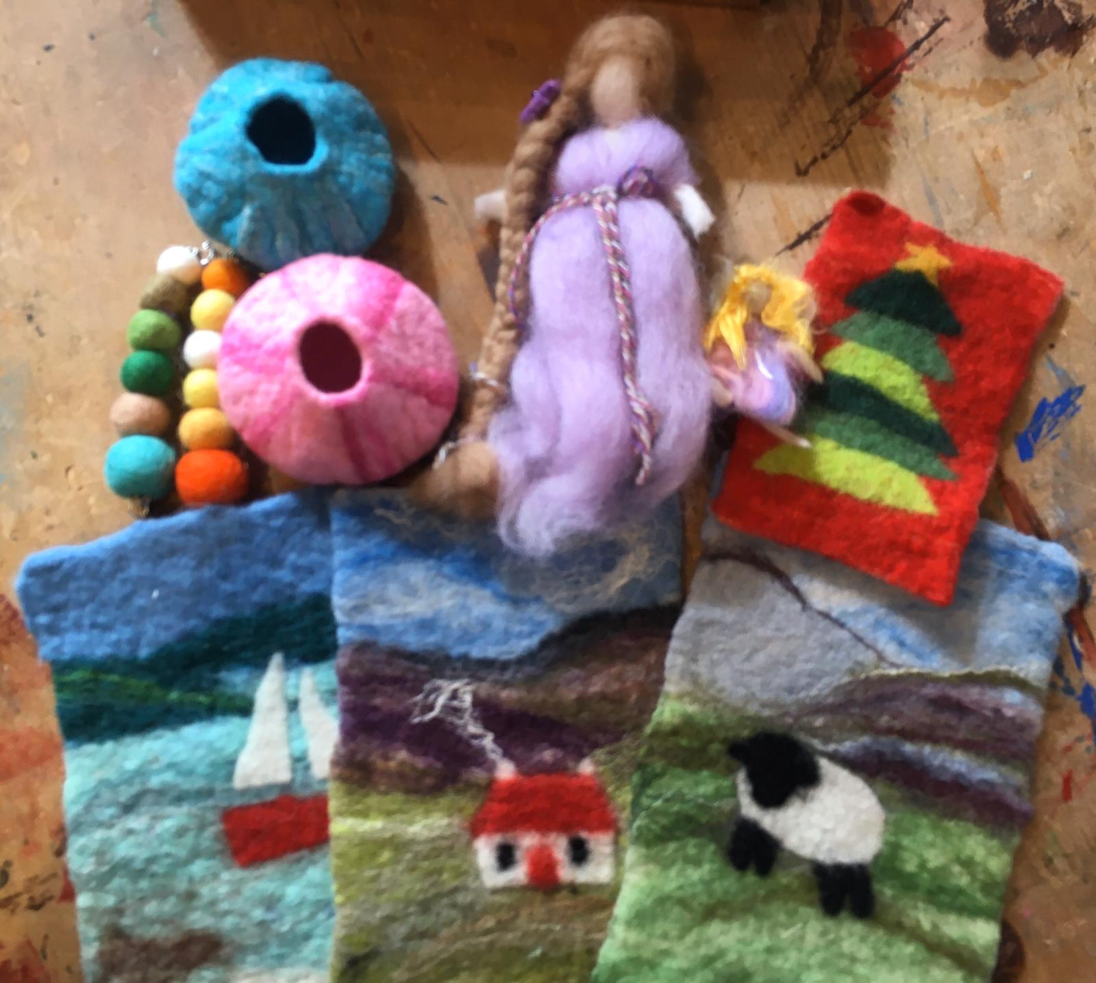 craft kits for kids at Hellygog Logie Steading
