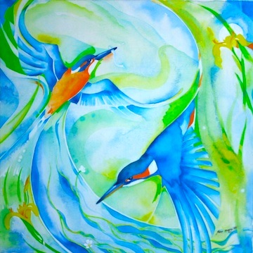 kingfishers by jane milloy