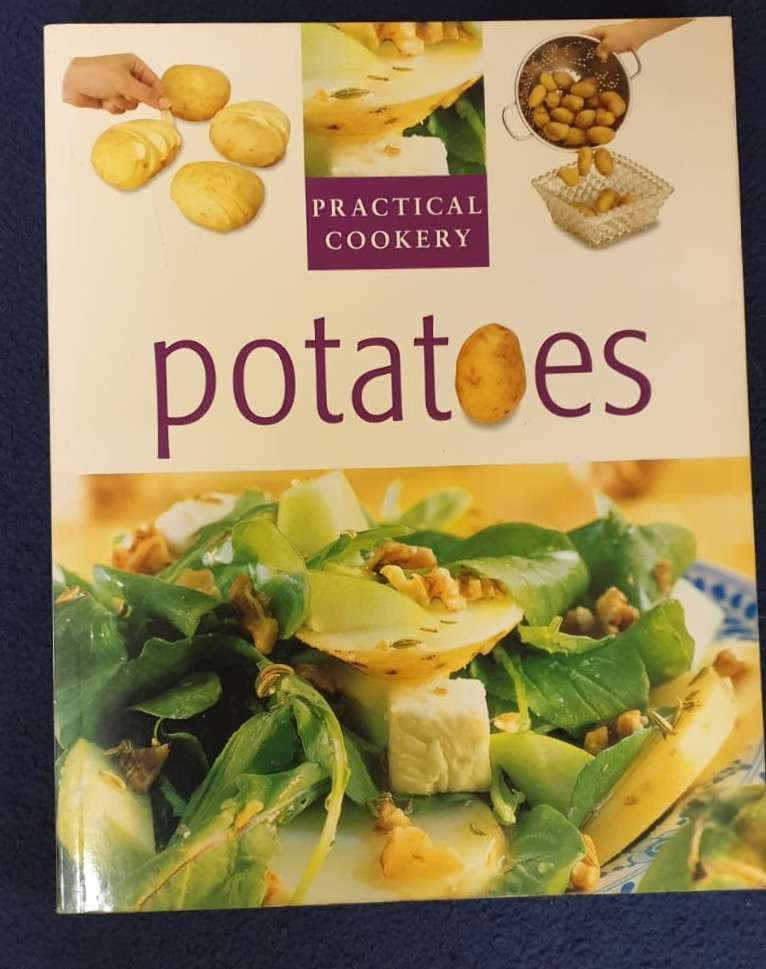 books including this one on potatoes available at Logie Bookshop