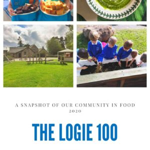 Logie Primary Cookbook front cover