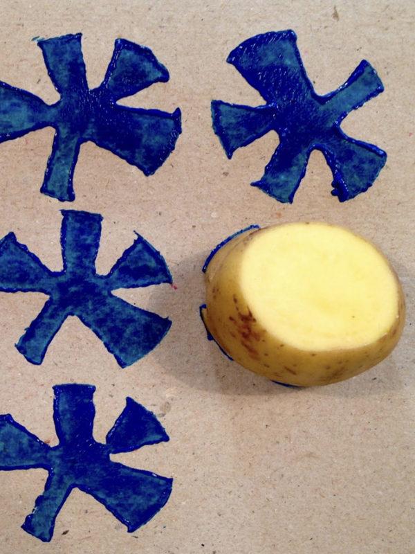 Potato printing voila