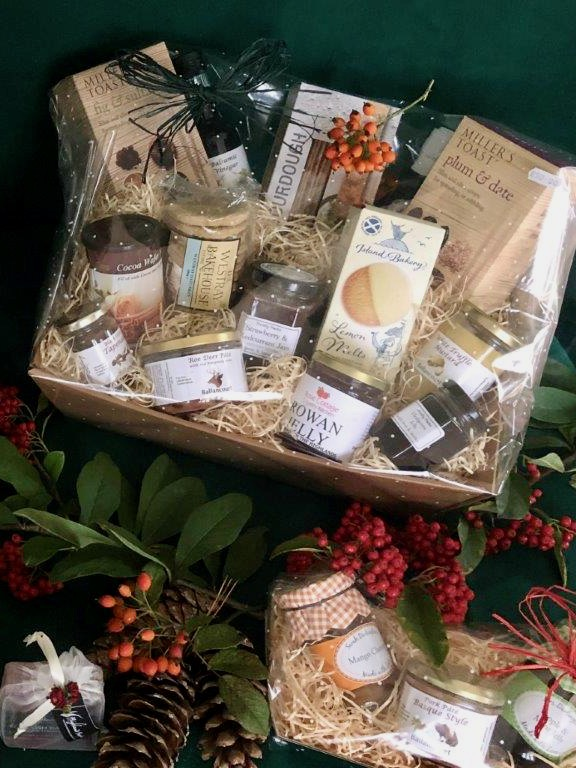 Christmas Hampers from Logie Steading Farm & Garden Shop